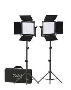 GVM 800DRGB3 RGB LED Video Lighting Kit