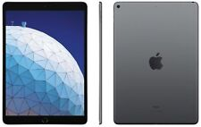 "Apple iPad Air (2019) 64GB, Wi-Fi + 4G (Unlocked), 9.7""  - Space Gray"