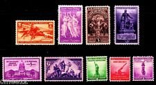 1940 Commemorative Year set (9 Stamps) - MNH