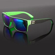 New Retro Square Frame DG Sunglasses Mens Flat Top Square Super Dark Lens