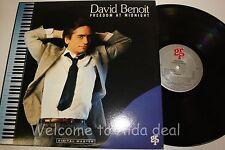 "David Benoit Freedom At Midnight (1987) LP (VG) 12"""