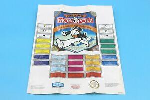 Nintendo Entertainment System NES - Monopoly Poster