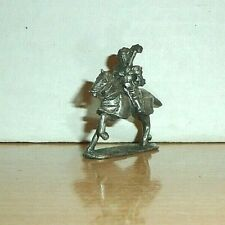 1 Pewter Mounted Knight Fantasy 25Mm Stamped on Bottom 1990s Pathfinder