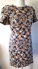 French Connection Grey camouflage Bow detail Summer Dress VGC Size:8 Free Post