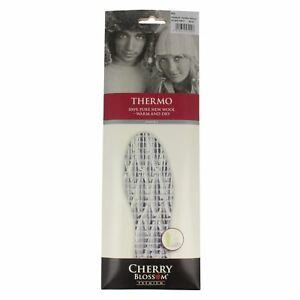 Cherry Blossom Mens Insoles - Thermo