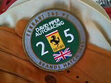Ferrari Piper patch emblem badge logo scuderia F1 458 430 612 FF 360 F355 348