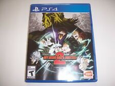 Replacement Box Case MY HERO ONE'S JUSTICE 2 PlayStation PS4 ORIGINAL NO DISC
