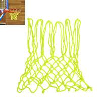 Luminous Basketball Net Sun Powered 12 Loops Basket Hoop Rim Net Indoor Outdoor