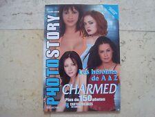 CHARMED Shannon Doherty Alyssa Milano PHOTO STORY magazine book + 4 Postcards