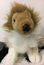 """Market Identity Sable Color Rough Collie Plush Toy 10"""""""