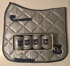 Réduit HKM Cavallino Marino doux poudre Kitsh Kitsh Set-Chabraque-Bandages