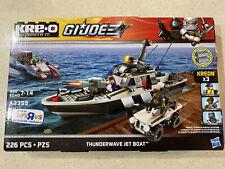 Kre-O GI Joe Thunderwave Jet Boat A2355 New!