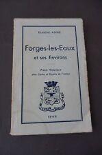 Normandie Forges les eaux et ses environs Eugène ANNE 1945