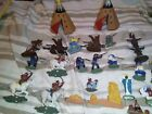 Britains Vintage cowboys and Indians And Accessories. Big job lot 1970s