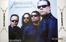 "METALLICA 'DEATH MAGNETIC"" POSTER FROM MEXICO - Group Wearing Sunglasses"