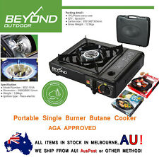 Portable Gas Single Burner Stove Butane Cooker With CASE +New Plate