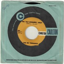 NU TORNADOS, THE  (Ole Mummers Strut, The)  Carlton 497 = VINTAGE record