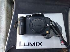 Panasonic Lumix G1 Micro Four Thirds Kamera mft m43 12 MP Schwarz