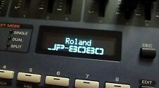 Roland JP-8000 / JP-8080 / JV-35 (Red/White/Blue/Amber) OLED Display !
