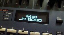 Roland JP-8000/JP-8080 pantalla OLED!