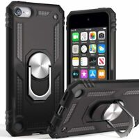 iPod Touch 5th 6th 7th Gen -HARD HYBRID HIGH IMPACT ARMOR CASE COVER ARMY  BLACK