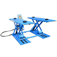 Portable Mid-Rise Scissor Car Hoist Vehicle Scissor Lift Tyre Shop Home Hoist