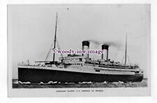 pf6706 - Canadian Pacific Liner - Empress of France , built 1913 - postcard