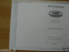 J0003 JAWA---BETRIEBSANLEITUNG 250cc TYPE 559/04 +---350cc TYPE 360/00-MODEL