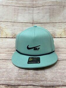 Nike True ROPE Retro 72 Hat Golf Cap Adult Teal Navy CU9889 307 Rare New