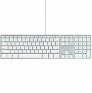 Genuine Apple iMac Wired A1243 UK QWERTY Aluminium Keyboard USB + Mouse FREE!
