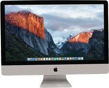 Apple iMac 27 - Intel Core i5 3,80GHz (8GB 2TB Hyb R580) 2017