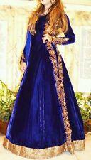 Lorenzo Designer Velvet Bridal Party Embroiderd Dress Lengha Saree with dupatta