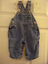 Baby Classic Baby Gap Snaps Between Leg Denim Overall Bibs Jeans Size 3-6 Months