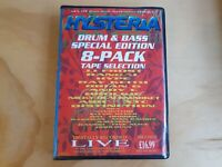Hysteria Drum & Bass Special Edition 8 Cassette Tape Box Set JJ Frost Randal Hyp