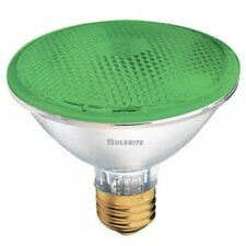 Bulbrite H75PAR30G 120V 75W PAR30 Halogen Light, Green