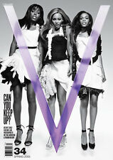 V Magazine Spring-2005 DESTINY'S CHILD BEYONCE BY INEZ & VINOODH