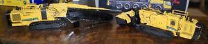 2 New Vermeer T1255 Trencher &Terrain Leveler - 1/50 - TWH