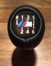 BMW M Power M Sport 6 Speed Manual Gear Knob Genuine Leather