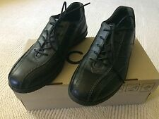 ECCO Women's Sky Tie Lace Up Black Comfort Work Shoes US 6-6.5 EUR 37