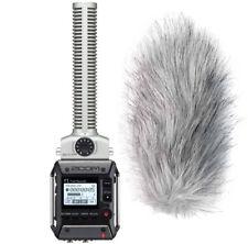 Zoom F1-SP Field Recorder mit Richtmikrofon + Windschutz