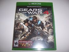 Original Box Case for Xbox One 1 Gears of War 4 *NO GAME*