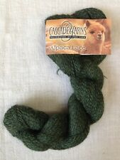 Cascade Yarns 100% Baby Alpaca Lace   color 1430 (green)