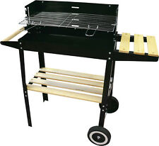 BBQ asador a carbón vegetal Barbacoa Portátil Parrilla Resistido de jardín carro