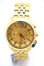 WITTNAUER MEN Watch WN3065 Goldtone Bracelet Retail $450