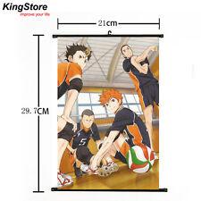 Anime Haikyuu Shoyo Hinata Shonen Home Decor Poster Wall Scroll 21*30 cm 06 New