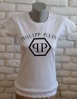 Brand New Women White T-Shirt Philip Plein S/M/L/XL no Tag Free Shipping