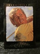 Johnny Miller 2003 Upper Deck Renditions Champions Lounge Masters Golf Card #64