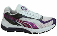 Puma Faas 700 Womens Trainers Lace Up Running Shoes White Purple 186687 04 D16