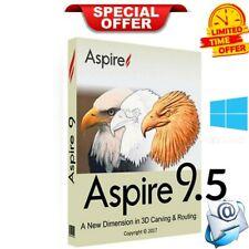 Vectric Aspire 9.5  Full Version windows Lifetime License+Bonus