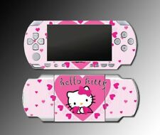Cute Kitty Pink Hearts Game SKIN Cover 9 for Sony PSP Playstation Portable 1000